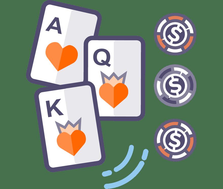 Los 64 mejores sitios de Casino de Póker de tres cartas en línea en Chile
